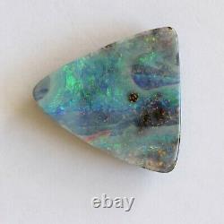 Boulder Opal 19.80ct 21.8 X 21mm Opal Opal Naturel Solide Non Serti Pierre