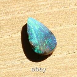 Boulder Opal 2.61ct 14 X 8mm Opal Australien Pierre Solide Non Sertie