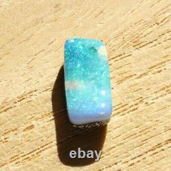 Boulder Opal 3.12ct 13,7 X 6,6 MM Opal Opal Naturel Solide Non Serti Pierre Non Sertie