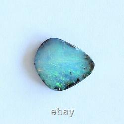 Boulder Opal 4.03ct 13 X 11mm Opal Opal Naturel Solide Non Serti Pierre Non Sertie