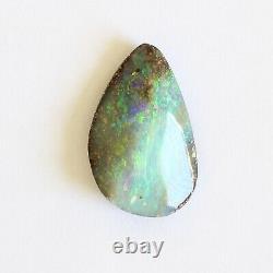 Boulder Opal 5.02ct 16,7 X 10mm Opal Opal Naturel Solide Non Serti Pierre Non Sertie