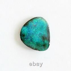 Boulder Opal 5.14ct 13.7 X 12mm Opal Opal Naturel Solide Non Serti Pierre Non Sertie
