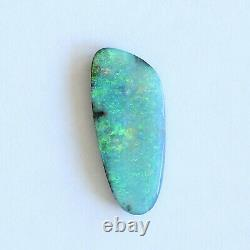 Boulder Opal 7.15ct 24 X 10mm Opal Opal Naturel Solide Non Serti Pierre Non Sertie