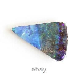 Boulder Opale 16.93ct 29 X 17mm Massif Naturel Opale Australienne Pierre Lâche Unset
