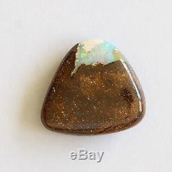 Boulder Opale 18.52ct 20 X 19mm Massif Naturel Opale Australienne Pierre Lâche Unset