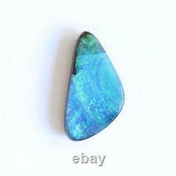 Boulder Opale 4.19ct 18 X 9mm Opale Australienne Pierre Libre Naturelle Solide Winton