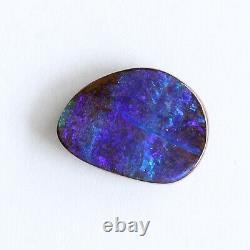 Boulder Opale 4.87ct 14.8 X 11mm Australien Opal Pierre Lâche Naturelle