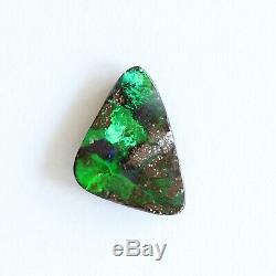 Boulder Opale 5.23ct 16 X 11 MM Massif Naturel Australien Vert Opale En Pierre Lâche