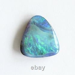 Boulder Opale 8.12ct 16 X 14,9 MM Massif Naturel Opale Australienne En Pierre Lâche Unset