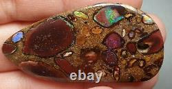 Boulder Pendentif Poli Opal Solide Bijouterie Conglomérat Naturel 48.65 Carat