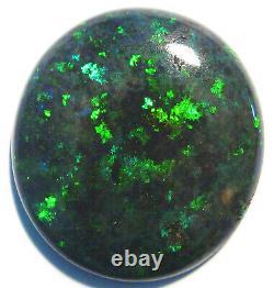 Bright Australian Andamooka Matrix Opal Solid Cut Stone 14.2ct Bleu Vert (1896)