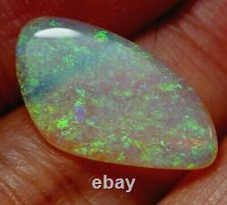 Bright Flash Australien Andamooka Crystal Solid Opal 4.98 Ct