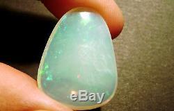 Cristal Australien Opale Lâche Pierre Verte Bleu Translucide 18.4ct (2321)