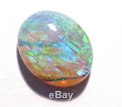 Cristal De Cristal Opale Australien Authentique Solide 11x9mm (aow 2928)
