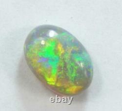 Cristal Opals Ridge Foudre Australiens Solides Cabochon 1,70 Cts + VID