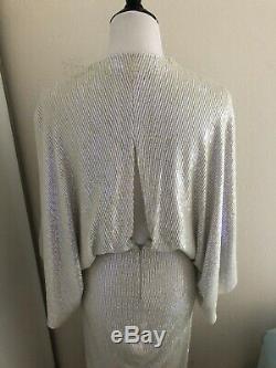 Diane Von Furstenberg Dvf Jessi Opale Robe Sequin Us 2 4