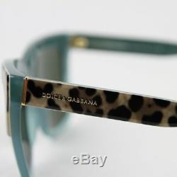 Dolce & Gabbana Imprimé Léopard Carré / Frame Green Opal Lunettes De Soleil 4262 2971/71