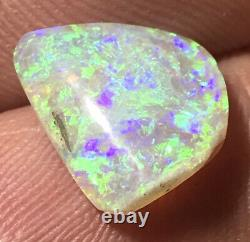 Faites Une Offre! Very Nice Vert 2.7ct Solid Lightning Ridge Dark Crystal Opal