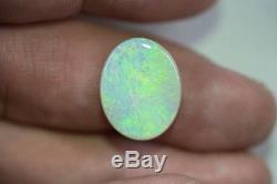 Gem Lob170318 De Lightning Ridge D'opale Légère Australienne Naturelle Solide De L'opale 8.30ct