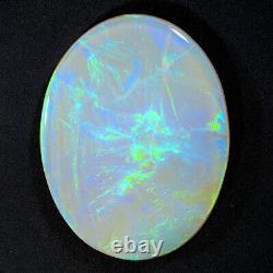 Impressive 7.32ct Blue Vert 20x15mm Solide Semi Crystal Polystal Lightning Ridge