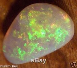 Lentille Semi-cristal Australien Solide Opal 14x8x3mm 2.74cts
