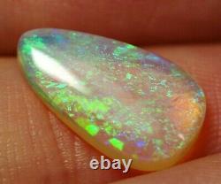 Lumineux Flash Australien Andamooka Cristal Opale Solide 2,2 Ct