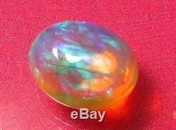 Lumineux Sparking Superbe Couleur Motif Naturel Solide En Cristal Clair De 2.3 Ctw
