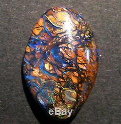 Naturel Australien Queensland Boulder Opal Pierre Taillée Massive 29x19x5mm (1945)