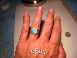 Neon Multi Color Bague Pour Homme Avec Opale Australienne Et Or Massif 14 K K