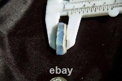Opal Solid Rare Rough Australian Natural Black Vertical Laying Colour Gem Stone