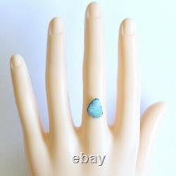 Opale Boulder 2.71ct 12 X 8.9mm Opale Australienne Naturelle Solide Pierre Lâche Aqua