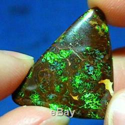 Opale Boulder Opale Naturelle Australienne À Matrice Solide De 20 Ct Voir La Vidéo