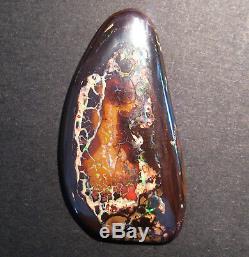 Opale Boulder Queensland Australienne Authentique 61.5ct (1951)