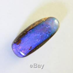 Opale Boulder Solide Bleu, Vert Et Violet