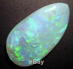 Opale D'australie - Pierre De Taille Massive, Pierre Foncée, Lambina, Base Foncée, Très Beau Grade 52x28mm (1529)