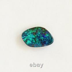 Opale De Boulder 1.51ct 10.9 X 6.9mm Opale Australienne Pierre Libre Naturelle