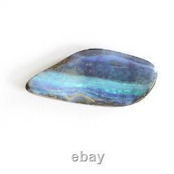 Opale De Boulder 17.25ct 33 X 14mm Opale Australienne Pierre Libre Naturelle Solide