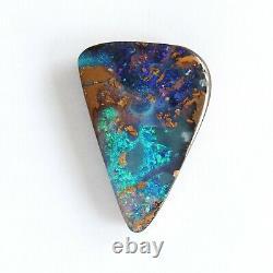 Opale De Boulder 17.26ct 25 X 17.7mm Pierre Libre Naturelle D'opale Australienne