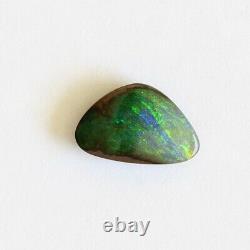 Opale De Boulder 2.96ct 11.9 X 7.6mm Opale Australienne Pierre Solide Naturelle Winton