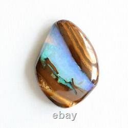 Opale De Boulder 24.57ct 27 X 20mm Opale Australienne Pierre Libre