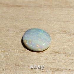 Opale De Boulder 3.18ct 11.7 X 10mm Opale Australienne Pierre Libre Naturelle