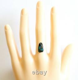 Opale De Boulder 3.67ct 14 X 7.6mm Opale Australienne Pierre Libre