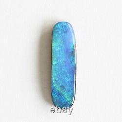 Opale De Boulder 3.73ct 21 X 6mm Opale Australienne Pierre Libre Naturelle Solide