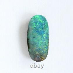 Opale De Boulder 4.31ct 17 X 8mm Opale Australienne Pierre Libre Naturelle Solide
