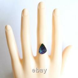 Opale De Boulder 4.95ct 14.9 X 10.7mm Pierre Lâche Naturelle D'opale Australienne