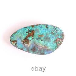 Opale De Boulder 7.52ct 20 X 11mm Opale Australienne Pierre Libre Libre Libre Pleine