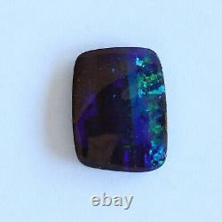 Opale De Boulder 7.59ct 15.7 X 11.8mm Pierre Lâche Naturelle D'opale Australienne