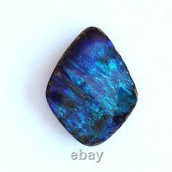 Opale De Boulder 9.01ct 19 X 14.9mm Opale Australienne Pierre Libre Naturelle Solide