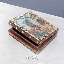 Opale Naturelle Baguette De Diamant Pave 925 Bijoux En Argent Massif Bague Taille 7 Rimj-586