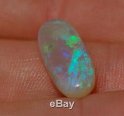 Pelle À Opale À Billes Vertes À Cristaux Vert Solide Opale Australien Opale Opale